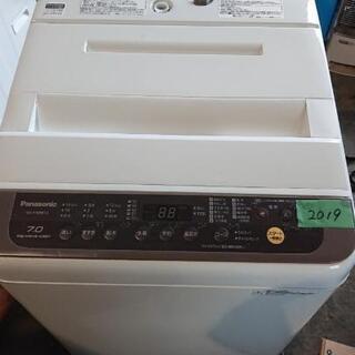 ☆パナソニック7kg全自動洗濯機2019年製☆