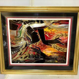 絵画「炎のような想い」★マーティロ・マヌキアン