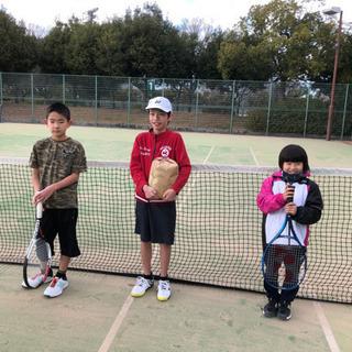 第2回 ジュニア テニス草試合 小学生の部