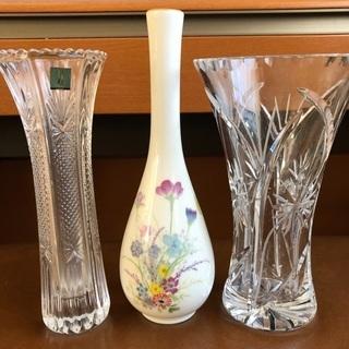 3種類の花瓶