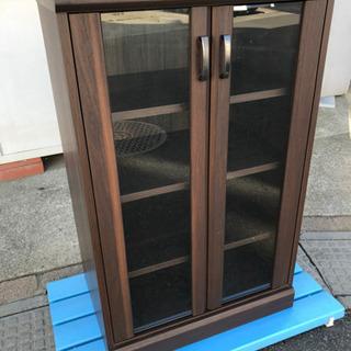4段収納家具 ブラウン系 寸法(約)幅58.5×奥行41×高さ91cm