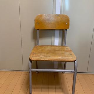 【レトロ】学校の椅子
