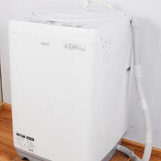 4373 SHARP シャープ 全自動洗濯機 ES-G60SC-...