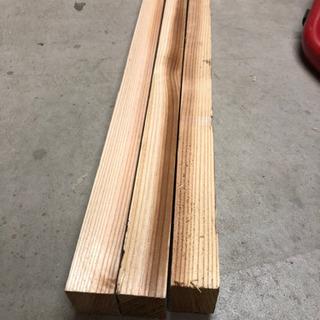 垂木 杉材36×45 3650ミリ 3本セット