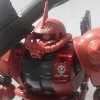 BANDAI HG 1/144 シャア専用ザクII オリジン版 完成品