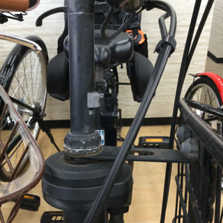 完売致しました。    12/24 福岡 東区 定価158,000円 Pnasonic 20インチ電動アシスト付き 子乗せ付き 自転車 ギュット アニーズ  内装3段変速 ギア付き マットナイト 自転車の画像
