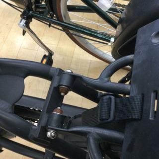 完売致しました。    12/24 福岡 東区 定価158,000円 Pnasonic 20インチ電動アシスト付き 子乗せ付き 自転車 ギュット アニーズ  内装3段変速 ギア付き マットナイト 自転車 − 福岡県