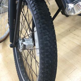 完売致しました。    12/24 福岡 東区 定価158,000円 Pnasonic 20インチ電動アシスト付き 子乗せ付き 自転車 ギュット アニーズ  内装3段変速 ギア付き マットナイト 自転車 - 自転車