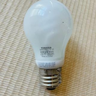 LED 電球 TOSHIBA EFA10EL/7-Z 100V7W