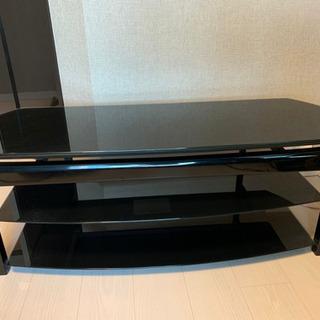 【無料】ガラス天板 TV台(朝日木材加工)の画像
