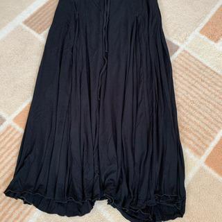 マキシロングスカート  黒  Mサイズ