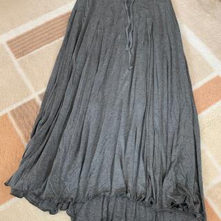 マキシロングスカート グレー  Mサイズ