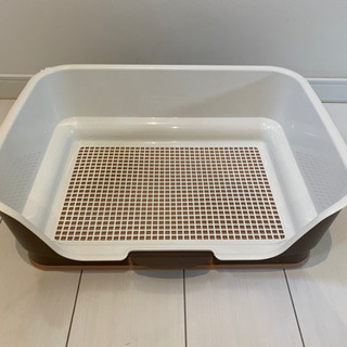 【ネット決済】リッチェル ステップ壁付トイレ 犬