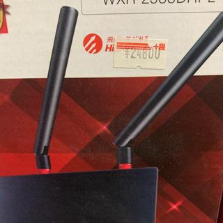 美品 1回のみ使用Wi-Fiルーター Buffalo WX…