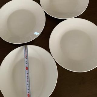 大皿 白 4枚