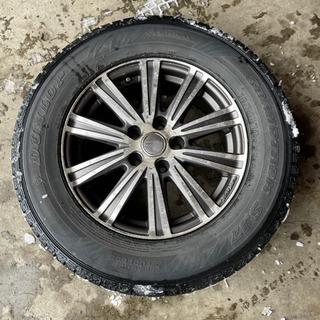 【決まりました】【処分価格】ホイール付き冬タイヤ ナット付…