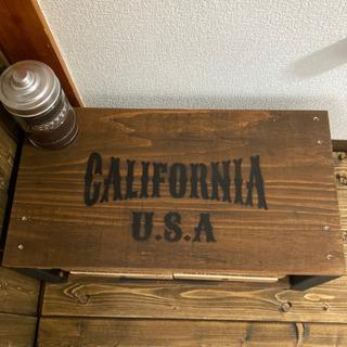 カリフォルニア California USA アンティーク  テーブル