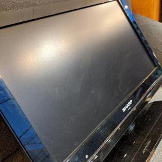 液晶テレビ TV シャープ SHARP AQUOS 19インチ