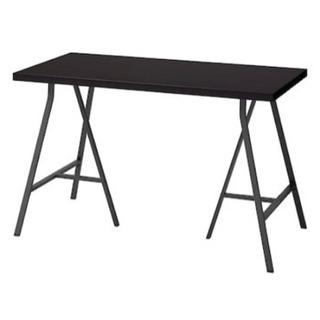 IKEA テーブル デスク 脚 架台 グレーの画像