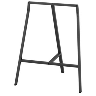IKEA テーブル デスク 脚 架台 グレー - 家具