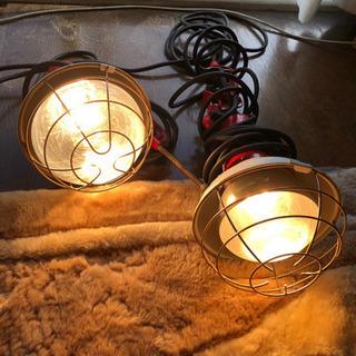 投光器 アウトドア キャンプ 工事 現場ライト 2つまとめてセット