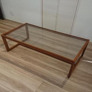 【ガラスローテーブル】