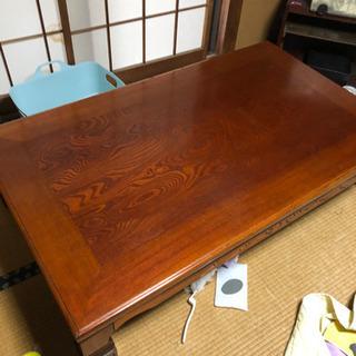 40年前に購入  高級和室 用 座卓 テーブル