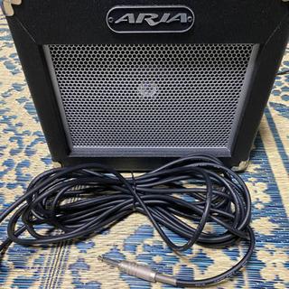 ギターアンプ ARIA AG-10Xとシールド
