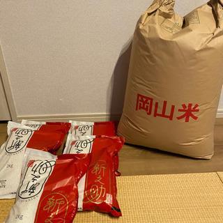 米 40kg●新潟県産白米10kg+岡山県産玄米30kg