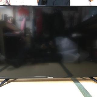 ハイセンス50インチ液晶テレビ - 家電