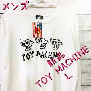 メンズ 長袖 ロングTシャツ TOY MACHINE トイ…