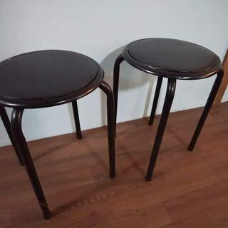 丸椅子3個