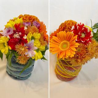 キッズ フラワーアレンジ&クラフト教室 with🍀 flower