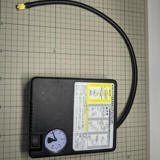 タイヤ空気充填用エアコンプレッサー