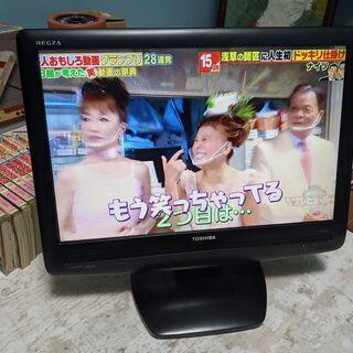 東芝REGZA19インチ 地デジテレビ