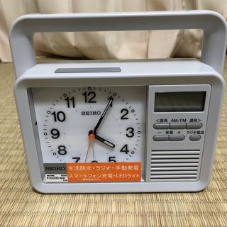SEIKO 多機能防災クロック KR885