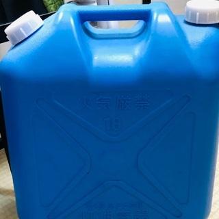 灯油缶 灯油タンク 18L ほぼ未使用の画像
