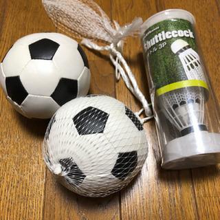 公園 シャトル バトミントン 犬 ボール サッカーボール