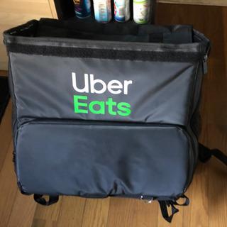 Uber Eatsのバッグ 鳥取にはありません(笑)の画像