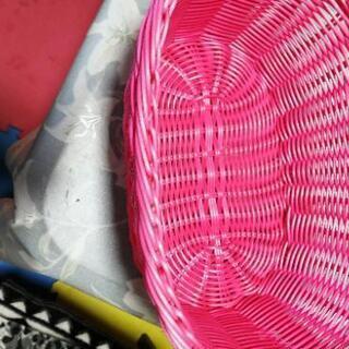 【ネット決済】ピンクのカゴ