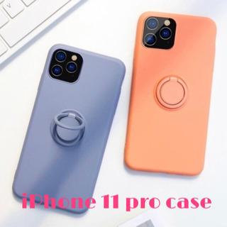 iPhone 11 pro case リング付き スマホケース ...