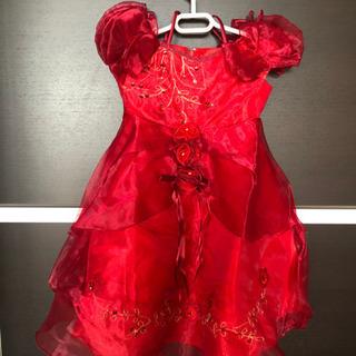 3歳 赤ドレス /新品未使用