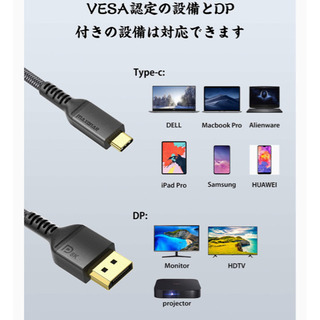 【新品】【未開封】USB Type C DisplayPortケ...
