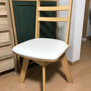 回転式食卓椅子(1脚)   ニトリの画像