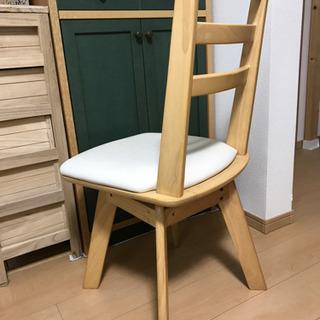 回転式食卓椅子(1脚)   ニトリ - 京都市