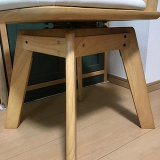 回転式食卓椅子(1脚)   ニトリ − 京都府