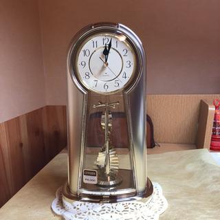 シチズン アストロールA 4RG 534-081 金色 未使用 置時計