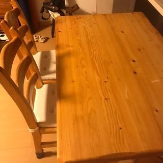 テーブル 椅子4脚