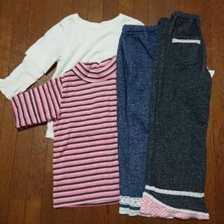 女児 女の子 冬服セット  120