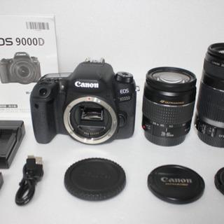 ■キャノン Canon EOS 9000D 標準&望遠ダブルレン...